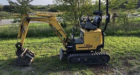 minigraver e10 new holland